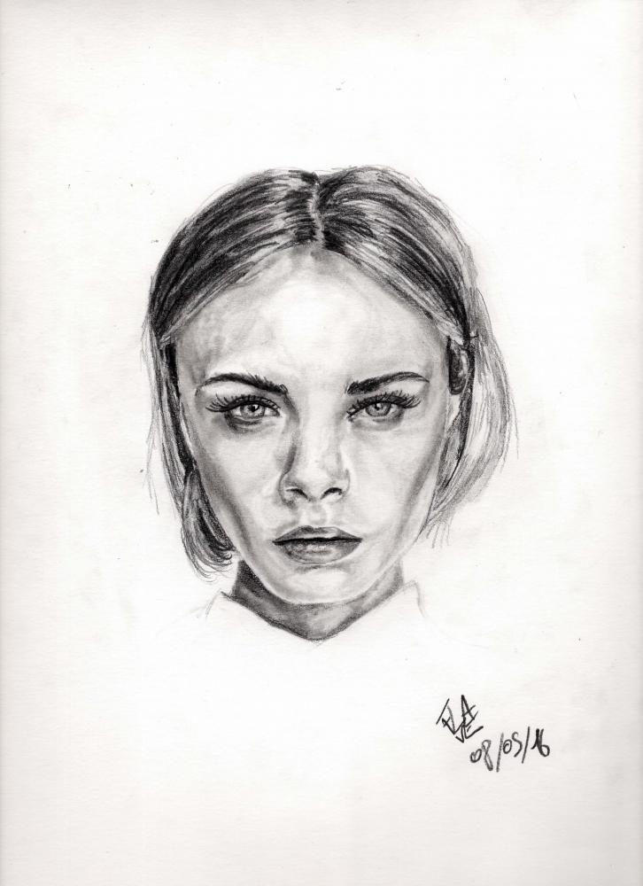 Cara Delevingne by Flave